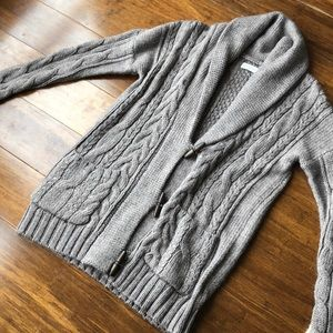 NWOT Abercrombie & Fitch Toggle Sweater